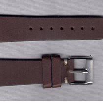 Soft Brown Leather Strap 20/16 For Rolex/Omega/Longines/Tag Heuer