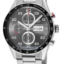 TAG Heuer Carrera Day Date Automatic Chronograph 43mm cv2a1u.b...