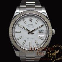 Rolex Datejust II 116334 White Gold Bezel