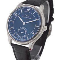 IWC 544501 Portuguese Hand Wound Vintage Collection - Steel on...