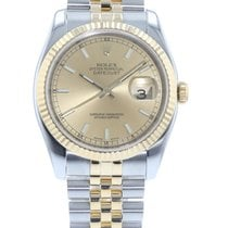 Rolex Datejust 116233 Watch with 18k Yellow Gold, Stainless...