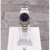 Rolex Oyster Perpetual With Custom Diamonds & Original Paperwork