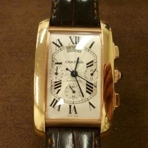 Cartier Tank Américaine tweedehands 52mm Roségoud