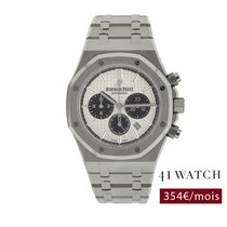 Audemars Piguet Royal Oak Chronograph occasion 41mm Argent Chronographe Date Acier