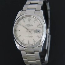 Rolex 34mm Remontage automatique 2011 occasion Oyster Perpetual Date Argent