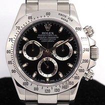 롤렉스 Rolex Daytona Ref 116520 Stainless Steel Black dial