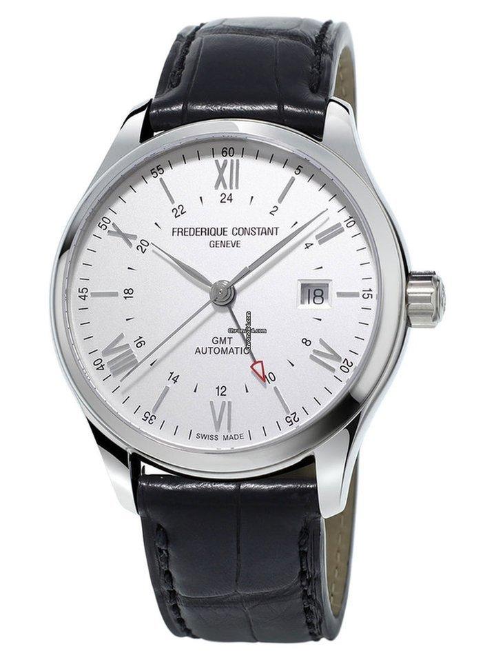 Frederique Constant Classics Index GMT FC-350S5B6 new