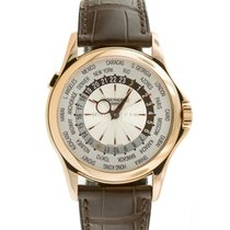 Patek Philippe World Time Rose gold 39.5mm Silver United States of America, Maryland, Towson, MD