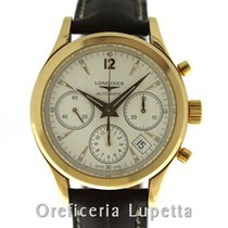 Longines Column-Wheel Chronograph Oro rosa 39mm Italia, Milano