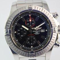 Breitling Super Avenger A13370 #1001 Stahlband, Box
