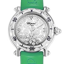3f280eaa57891 Chopard Happy Sport Snowflake Floating Diamond Watch 278949-3001 for ...