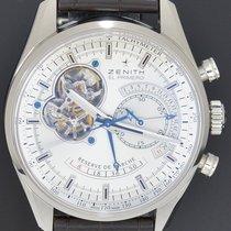 Zenith El Primero Chronomaster Ocel 42mm Stříbrná