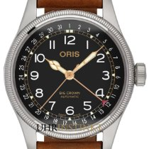 Oris Steel 40mm Automatic 01 754 7741 4037-Set LS new
