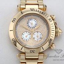 Cartier Or jaune 36mm Quartz Pasha occasion