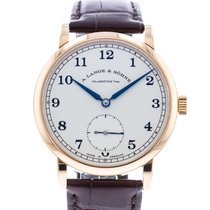 A. Lange & Söhne 1815 Rose gold 38.5mm Silver United States of America, Georgia, Atlanta