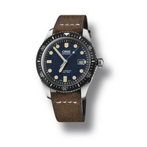 Oris Divers Sixty Five Steel 42mm Blue No numerals United States of America, Pennsylvania, Bala Cynwyd