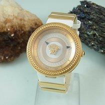 Versace Damenuhr 40mm Quarz gebraucht Nur Uhr