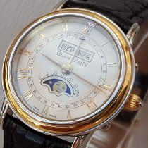 Blancpain Villeret Moonphase Gold/Steel 26mm White Roman numerals