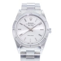 Rolex Air King Precision Сталь 34mm Cеребро