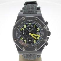 Audemars Piguet Royal Oak Offshore Chronograph nieuw 2000 Automatisch Horloge met originele papieren 25770SN.O.0001KE.01