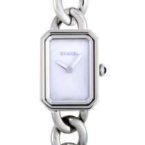 Chanel Steel Quartz Mother of pearl 22mm new Première