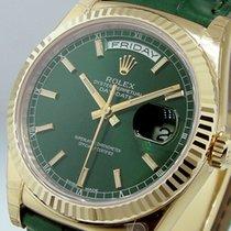 Rolex Day-Date 36 Зелёный