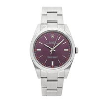 Rolex Oyster Perpetual 39 Steel 39mm Purple No numerals United States of America, Pennsylvania, Bala Cynwyd