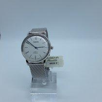 Dugena Dessau Stahl 38,6mm Silber Arabisch Deutschland, Luckenwalde