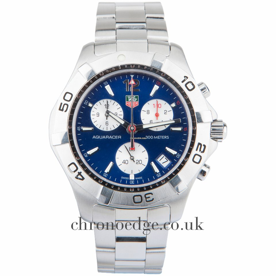 tag heuer aquaracer quartz chronograph caf1112 ba0803 sold on chrono24
