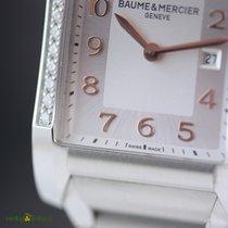 Baume & Mercier Hampton Lady Diamond 40mm Steel on Steel...