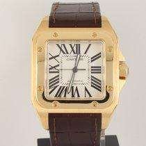 Cartier Santos 100 yellow gold