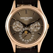 Patek Philippe 18k Rose Gold Perpetual Calendar Ultra Thin...