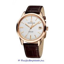 Jaeger-LeCoultre Geophysic True Second Rose gold 40mm Silver United States of America, California, Newport Beach