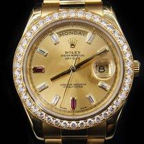 Rolex Day-Date II / President II Diamond Dial/Bezel