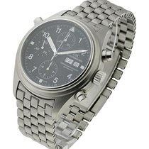 IWC 371319 Dopple - Double Chronograph Automatic in Steel - on...