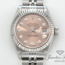 Rolex Datejust Stahl Weissgold 750 Diamanten Lady Date Just