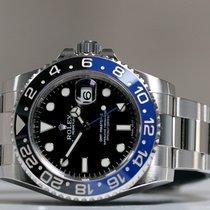 Rolex GMT-Master II Acier 40mm Noir Sans chiffres France, Thonon les bains