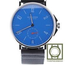 NOMOS Ahoi Datum Acier 40.3mm Bleu Arabes