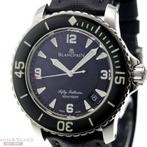 Blancpain Fifty Fathoms Ref-5015-1130 Stainless Steel Box...