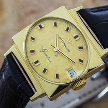 Wittnauer Gold/Steel 34mm Manual winding pre-owned