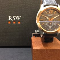 RSW Stahl 44mm Quarz 9240.SP.L1.15.00 neu