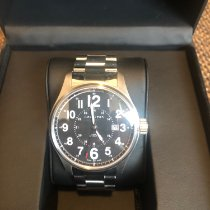 Hamilton 44mm Automatic 2013 pre-owned Khaki Field Officer Black