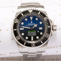 Rolex Sea-Dweller Deepsea Steel 44mm No numerals United Kingdom, Macclesfield