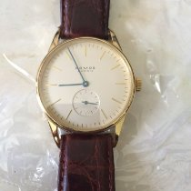 NOMOS Yellow gold Manual winding Gold No numerals 35mm pre-owned Orion