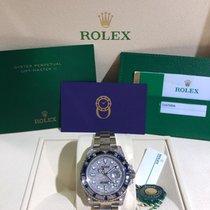 Rolex 116759SA Oro bianco 2019 GMT-Master II 40mm nuovo