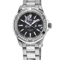 TAG Heuer Aquaracer Lady new Quartz Watch with original box WAY131P.BA0748