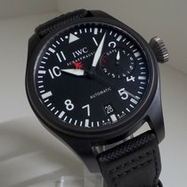 IWC Big Pilot Top Gun Керамика 48mm Чёрный
