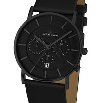 Jacques Lemans Classic York Steel 42mm Black