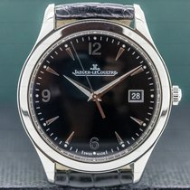 Jaeger-LeCoultre Master Control Date Steel 39mm Black Arabic numerals United States of America, Massachusetts, Boston