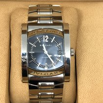 Bulgari aa 48 s ch Steel Assioma 38mm pre-owned